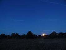 Night and moon Royalty Free Stock Images
