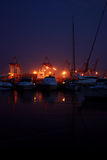 Night mooring Stock Photography
