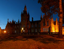 Night Morgan Academy in Dundee. Stock Photography