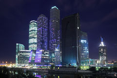 Night Moscow Royalty Free Stock Images
