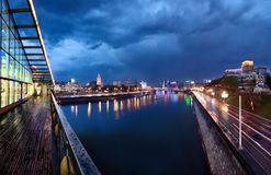 Night Moscow. Stock Photography