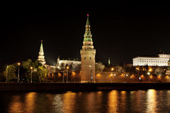Night Moscow Stock Photos