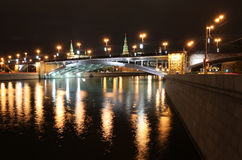 Night Moscow Royalty Free Stock Image