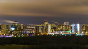 Night Moscow Royalty Free Stock Photos