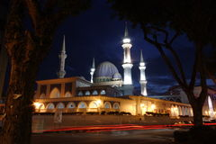 Night Mosque Royalty Free Stock Photography