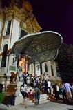 Night of Museums in Bucharest - George Enescu National Museum Royalty Free Stock Photography