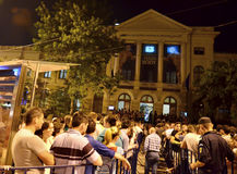 """Night of Museums in Bucharest - The National Museum of Natural History """"Grigore Antipa"""" Royalty Free Stock Photo"""