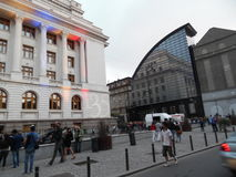 Night of Museums 2015 in Bucharest, Romania. Royalty Free Stock Photo