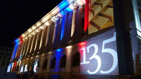 Night of Museums 2015 in Bucharest, Romania. Royalty Free Stock Images