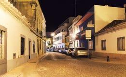 Night narrow street Royalty Free Stock Photos