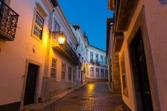 Night narrow street Stock Images
