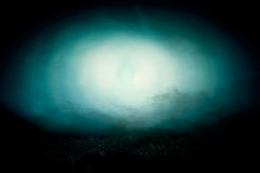 Night nature and ghost illustration Stock Photography