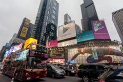 Night  New York City Midtown Manhattan Royalty Free Stock Images