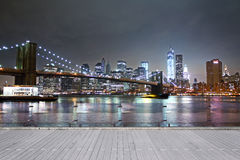 Night New York Stock Photo