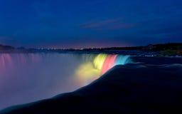 Night at Niagara Falls Royalty Free Stock Images