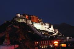 Free Night Of Tibet Potala Palace Stock Photo - 11282510