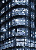 Night office block Royalty Free Stock Photos
