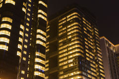 Night office building Stock Image