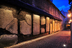 Night old city, Tallinn Royalty Free Stock Image