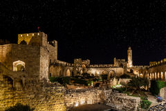 Night in the Old City royalty free stock photography