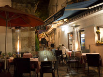 Night in the Old Town of Marbella on the Costa Del Sol Andalucia, Spain Stock Images