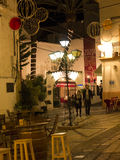 Night in the old town of Marbella on the Costa del Sol Spain Stock Photo