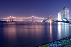 Free Night On The Mississippi Royalty Free Stock Image - 1418686