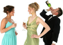 Night Out Stock Photography