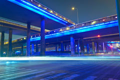 Night overpass Stock Photos