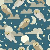Night owls royalty free stock images