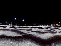 Night. Paisaje atardecer noche cielo sky chile playa beach arena royalty free stock photography