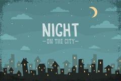 Night panorama Royalty Free Stock Image