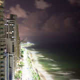 Night panorama of Recife Royalty Free Stock Photography