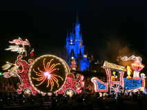 Night Parade at Tokyo Disneyland Royalty Free Stock Photos