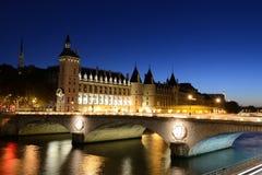 Night paris Stock Image