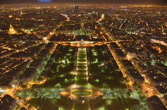 night paris στοκ εικόνα