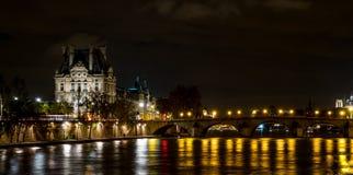 night paris στοκ φωτογραφία με δικαίωμα ελεύθερης χρήσης