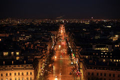 Night Paris Stock Photos