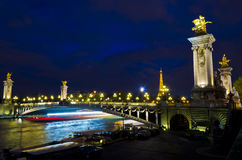 Night in Paris - France Stock Image