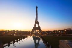 Night in Paris Royalty Free Stock Photo