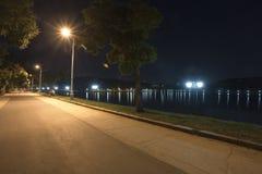 Night park Stock Photos