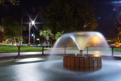 Night in a park Stock Photography