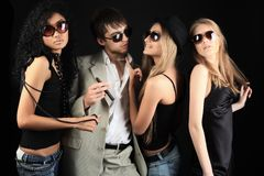 Night party Royalty Free Stock Images
