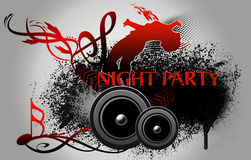 Night Party Stock Photography