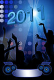 Night party - New Year Stock Photography