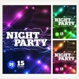 Night party Vector Stock Photo