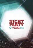 Night party Vector Stock Photos