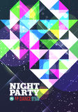 Night party Vector Stock Photography