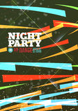 Night party Vector Stock Photo