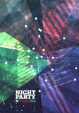 Night party Vector Royalty Free Stock Photo